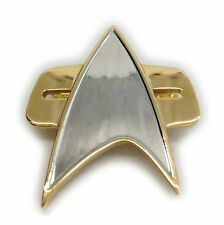STAR TREK  Uniform Communicator Pin - Metall - ovp rar