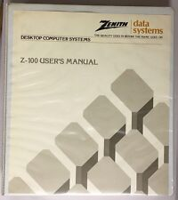Zenith Data Systems Z-100 Desktop Computer Users Manual 1982