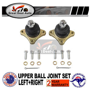 2 X Suits Mitsubishi Pajero NM NP NS NT Upper Front Ball Joints 4X4 2000~2011