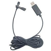 USB Mini Lavalier Revers Mikrofon Clip-on Mikrofon Handy Für Vlog