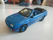 Solido Custom Build Ford Sierra Cabriolet in Blue on 1:43