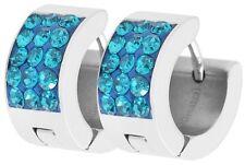 Bisutería de color principal azul de acero inoxidable