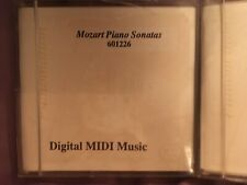 Lot Of 2 Pianomation Floppy Disks Mozart And Fabulous Thirties