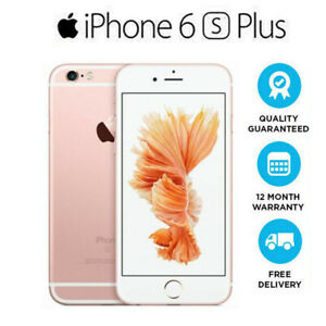 Apple iPhone 6s Plus - 32GB - Roségold (Ohne Simlock) A1687 (CDMA + GSM)