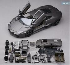 Bburago 1:18 Lamborghini Reventon Assembly DIY Racing Car Diecast MODEL KITS