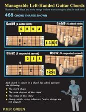Manageable Left-Handed Guitar Chords : Illustrated with Black and White...