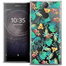 """Coque Crystal Gel Pour Sony Xperia XA2 (5.2"""") Souple Spring Tropical"""