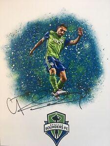 Cristian Roldan Signed Seattle Sounders 8x10 Photo MLS Soccer Autographed Auto