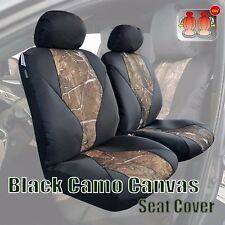 Front set car seat covers fits 2005-2020 Toyota Tacoma      camo wetlands