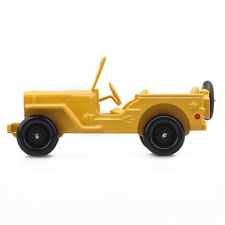Alloy Diecast Car model Atlas 1:43 Dinky Toys 24M yellow JEEP VERSION CIVILE