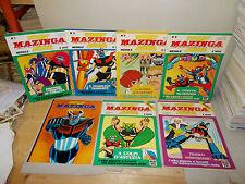 MAZINGA Z MENSILE EDIERRE 1980 SERIE COMPLETA 1/4 OTT/NUOVI+2 SPECIALI+SUPER
