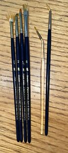 Princeton Art & Brush Co. (Lot of 6) Paint Brushes