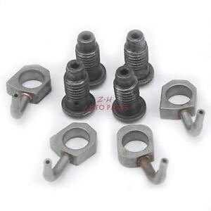 EA888 4Pcs Engine Oil Spraying Nozzle Fit For VW Passat 2006-2011 AUDI 1.8T 2.0T