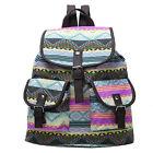 Womens Girls Canvas Shoulder School Bag Vintage Backpack Travel Satchel Rucksack
