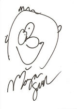 MORGAN SPURLOCK AUTHENTIC AUTOGRAPHED SIGNED DRAWING AFTAL & UACC [11243]