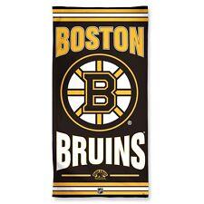 "BOSTON BRUINS 30""X60"" FIBER BEACH TOWEL BRAND NEW FREE SHIPPING WINCRAFT"