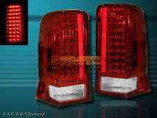 2002-2006 CADILLAC ESCALADE RED LED TAIL LIGHTS 4 DOORS LAMPS 2003 2004 2005
