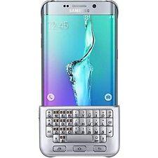 Samsung Galaxy S6 Edge+ Plus Keyboard Cover Custodia Tastiera Argento EJ - CG928