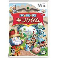 Used Wii Boku to Sim no Machi Kingdom / MySims Kingdom Japan Import