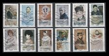 France 5007-5018  Portraits  [12 USED Stamps] Issued 2016