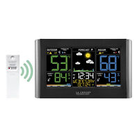 C85845 La Crosse Technology Wireless Color Weather Station with TX141TH-BV3 NIB