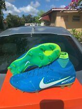 Nike Mercurial Superfly V NEYMAR JR BLUE 921499-400 SOCCER CLEATS Boots size 11