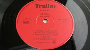 Nic Jones SELF TITLED 1971 UK LP RARE 1st Press Red Trailer  EX+ /NEAR MINT HEAR