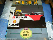 AUTOCOURSE 1990 91 Ayrton Senna Alain Prost Nigel Mansell Nelson Piquet McLaren