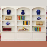 1/12 Dollhouse Miniature Furniture Library Display Bookcase Bookshelf Cabinet