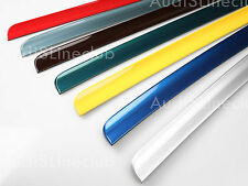 Painted Boot lip spoiler For Audi A4 B7 Sedan 2005 2008