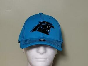 Carolina Panthers Blue and Black FittedL/XL New Era  NFL Hat New Free Shipping
