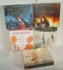 5 Hörbücher auf 37 CDs - Roman,Fantasy..Neu