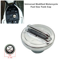 Universal Modified Motorcycle Dirt Pit Bikes Fuel Gas Tank Cap Cover 3CM Hole