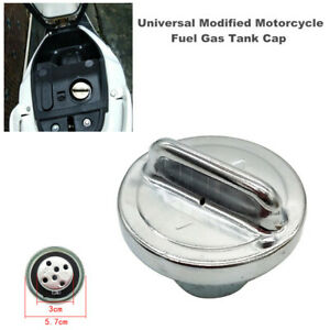 Universal Modified Motorcycle Fuel Gas Tank Cap Cover fit for Honda Ducati BMW