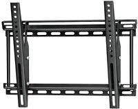 Black - Omnimount 2N1-M Medium Flat Panel Mount with Tilt. to VESA 300 x 400