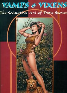 Vamps & Vixens: The Seductive Art of Dave Stevens -SC/VF