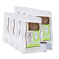 240-Ct EZ Carafe Large Paper Coffee Filters with Lid for Keurig K-Carafe K Cups