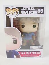 Rare New Funko Pop! Star Wars Han Solo 86 (Snow Gear) LootCrate Exclusive vinyl