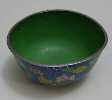 "Vintage Beautiful Chinese Cloisonne Bowl 4"" Diamete"