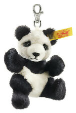 STEIFF Panda Porte-clés EAN 112102 9 cm noir blanc sac à main charme Nouveau