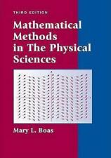 Mathematical Methods in the Physical Sciences by M. L. Boas (Hardback, 2005)