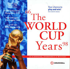 WORLD CUP YEARS 66 TO 98: PROMO CD (1998) MUNGO JERRY, JACKSONS, ADAM & THE ANTS