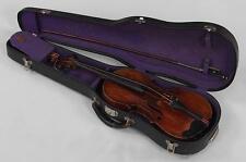 "German Josef Engleder's Antique Violin circa 1812? w/ Tourte bow & case 24"""