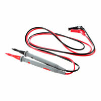 1 Pair Digital Multimeter 1000V 20A Universal Test Lead Cable Probe Red+Bla A4T6