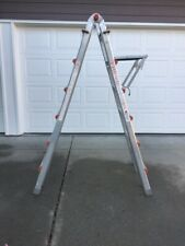 Type 1a Classic Little Giant Ladder M 26 Model Number 10126 With Work Platform