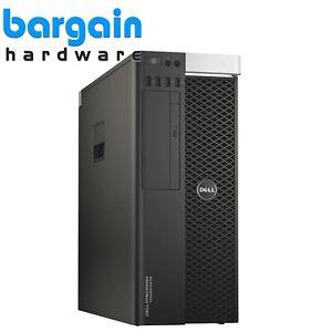 Dell Precision T5810 Poste de Travail - 3.50GHz Quad Core 32GB DDR4 Win10 Pro