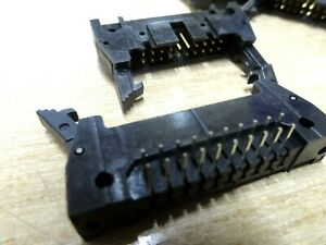 10X Fujitsu 20 way right angle IDC PCB header plug FCN705Q020AUM