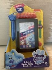Blue's Clues And You! Talking 2-sided Handy Dandy Notebook