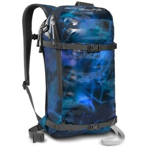 North Face Slackpack 20 Snow Backpack LARGE Shady Blue Night Lights Print