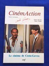 CINEMACTION 35. LE CINEMA DE COSTA-GAVRAS - FIRST EDITION SIGNED BY COSTA-GAVRAS